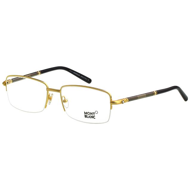 萬寶龍 MONTBLANC-光學眼鏡(金色)MB493