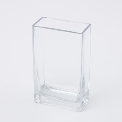 【滿額現折↘最後1週-生活工場】Clear長方手工花瓶H20cm