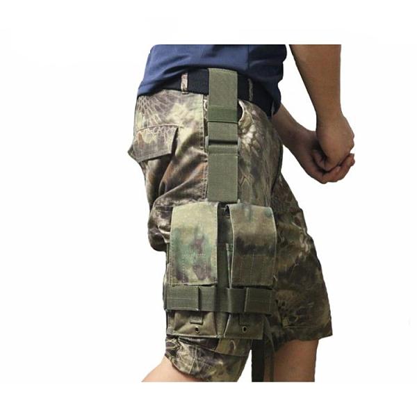 腿包騎行腿包男工具包防水腿套跑步手機腿包戰術腿掛多功能腿包彈夾包 雲朵
