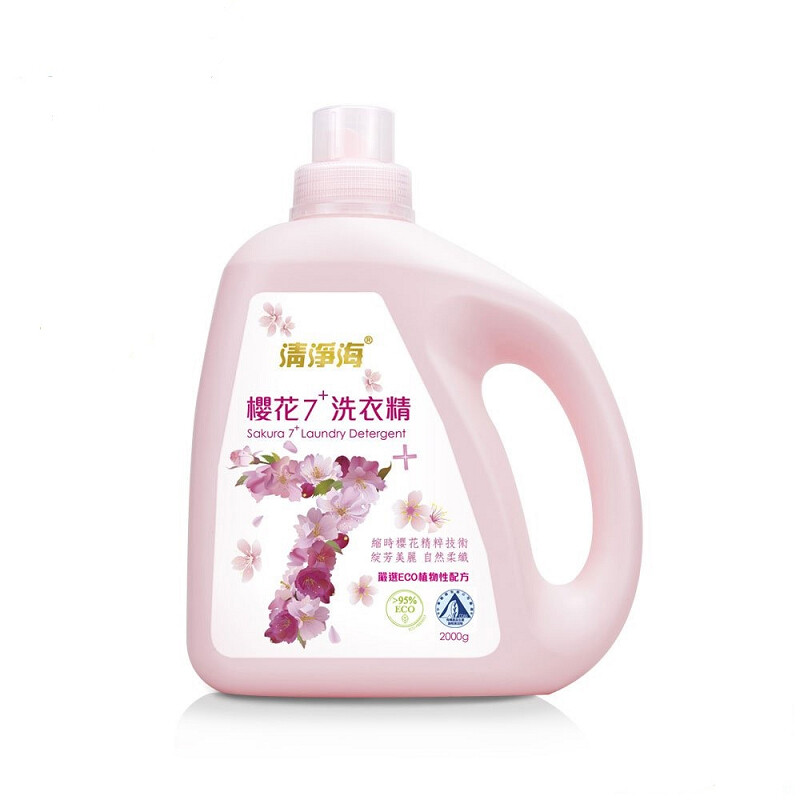 清淨海 櫻花7+ 洗衣精2000g