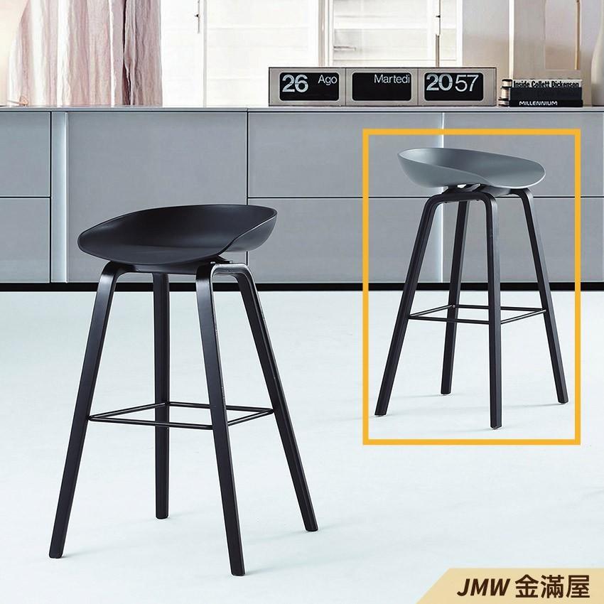 43cm 餐椅 北歐工業風 書桌椅 長凳 實木椅 皮椅布椅 餐廳吧檯椅 會議椅金滿屋g920-6