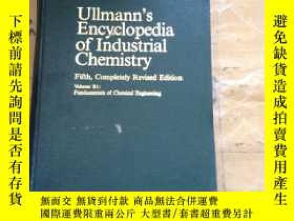 二手書博民逛書店Ullmann s罕見Encyclopedia of Indus