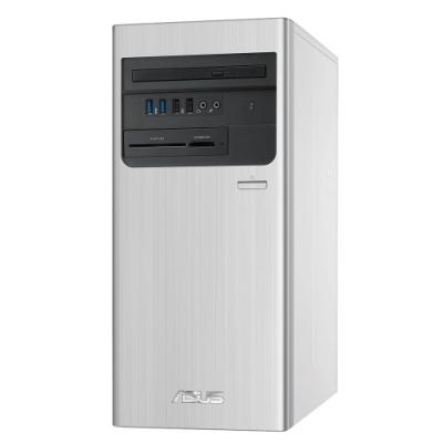 ASUS華碩 S700TA 第十代i7八核桌上型電腦(i7-10700/8G/1TB HDD+256G SSD/GTX1650 4G/Win10 home/銀)