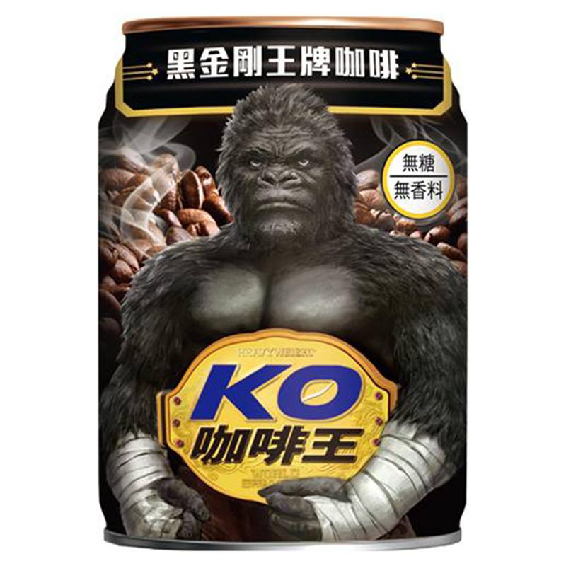 KO咖啡王黑咖啡 240mlx24罐