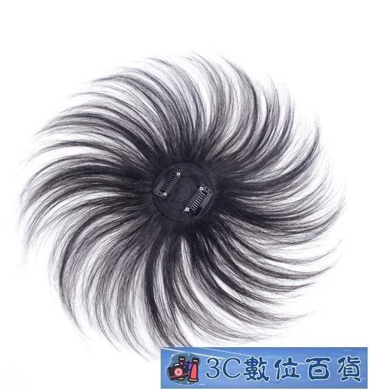 頭頂補髪片女 輕薄無痕一片式局部遮白髪遞針真髪補髪塊假髪片 百貨  凱斯頓 新年春節送禮