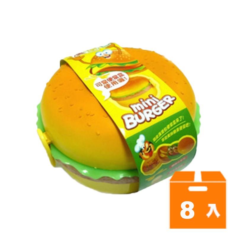 圓形漢堡包QQ軟糖(8入)/箱 【康鄰超市】