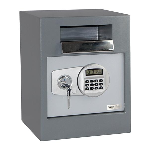 聚富前投幣式保險箱(BT45)金庫/防盜/電子式/密碼鎖/保險櫃@四保