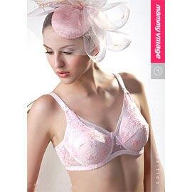 六甲村浪漫粉紅‧全罩式哺乳胸罩(75G~90G)【悅兒園婦幼生活館】