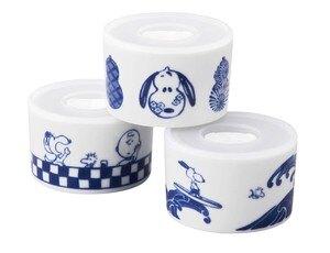 陶瓷保鮮罐 史努比 食品罐 3入 日本進口正版授權