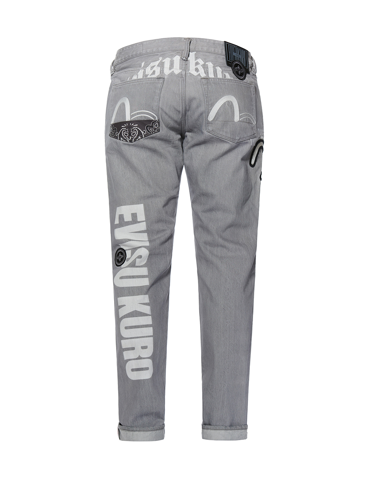 Graphics Embroidered Slim Fit Jeans 2010