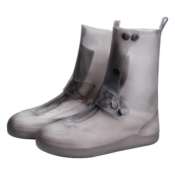 水鞋硅膠雨鞋女防水套防滑防雨套鞋加厚耐磨雨鞋套高筒便攜雨靴男 【恭賀新春】