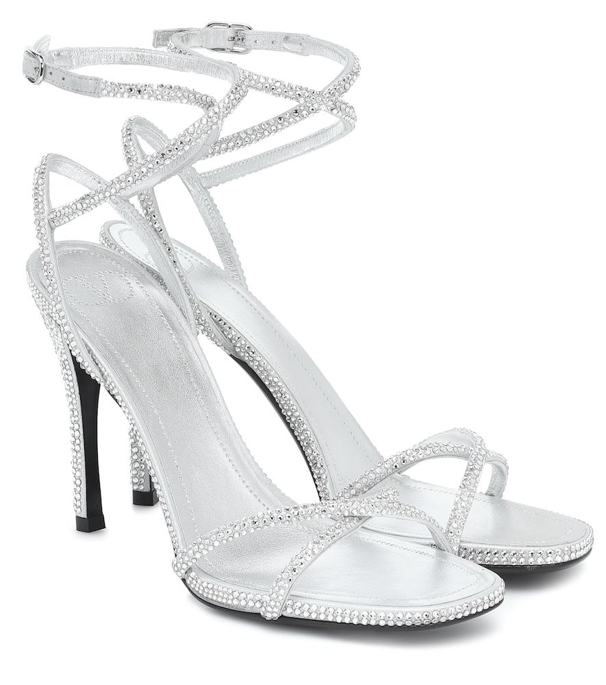 Valentino Garavani Upflair 105 embellished leather sandals