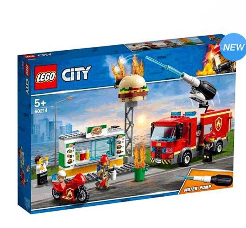 [COSCO代購] W127076 Lego 城市系列漢堡餐廳火災救援
