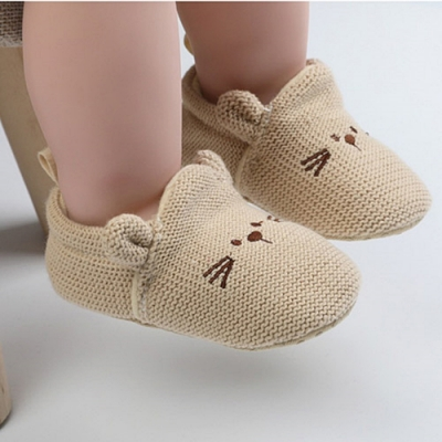 Baby童衣 寶寶學布鞋 貓咪造型學步鞋 88568