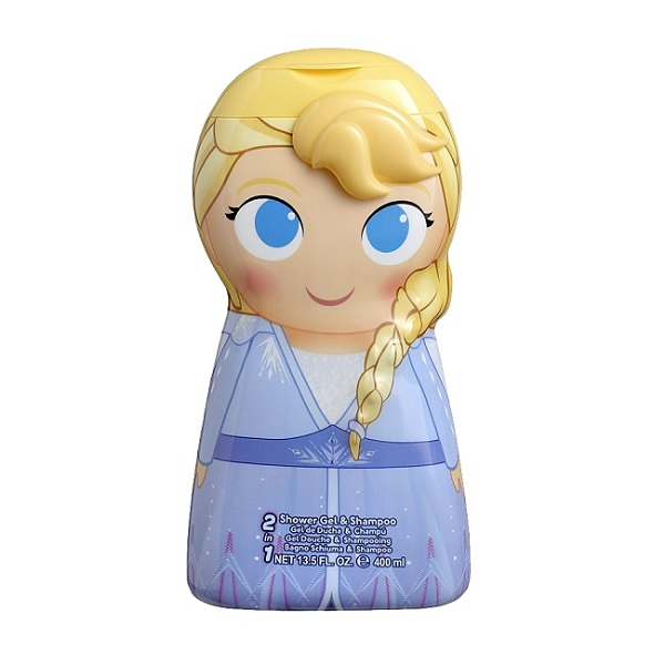 Disney Frozen艾莎2合1沐浴洗髮精400ml