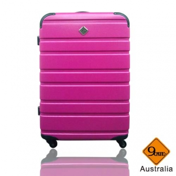 Gate9羅馬橫紋ABS材質超值(28吋)ABS行李箱旅行箱