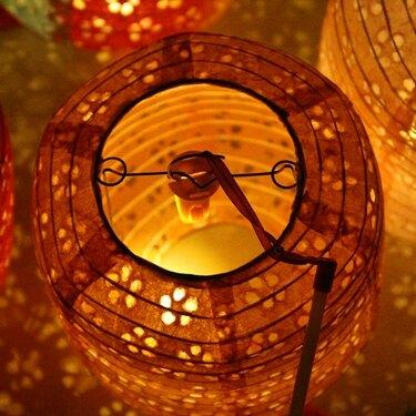 兒童舞蹈中秋節擺攤手提發光冬瓜鏤空紙燈籠漢服拍攝道具古風花燈[快速出貨] 聖誕節禮物