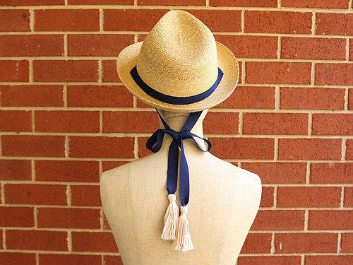 草帽折疊帽Jean Tassel