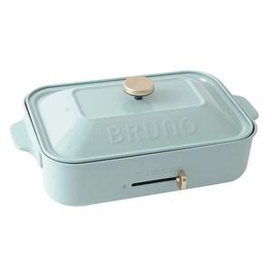 送矽膠袋❤日本 BRUNO 多功能電烤盤 (平烤盤/章魚燒) 土耳其藍土耳其藍