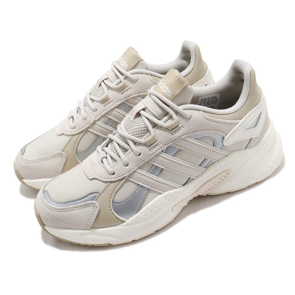 ADIDAS 休閒鞋 Crazychaos Shadow 男鞋 愛迪達 三線 復古 微增高 麂皮 穿搭 灰 黃褐 [FX9104]