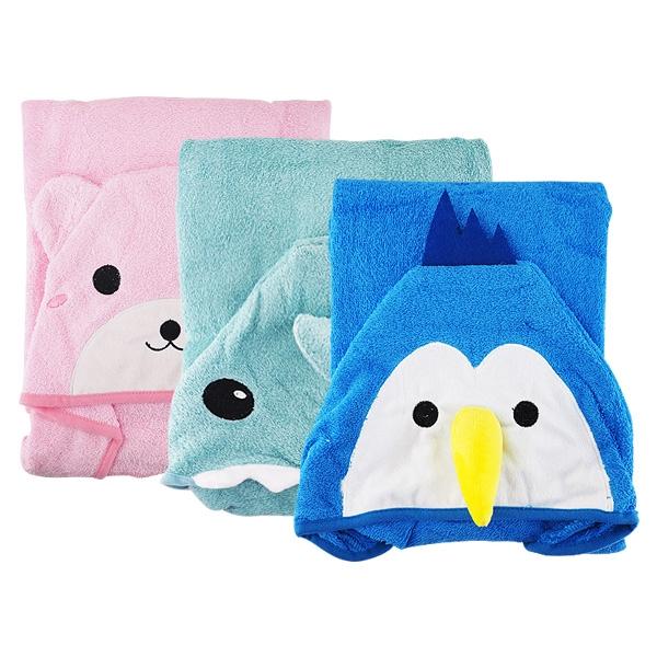 兒童造型浴巾(1入)【小三美日】D021765
