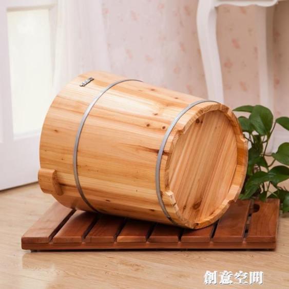 泡腳木桶足浴桶洗腳盆木桶泡腳木盆家用
