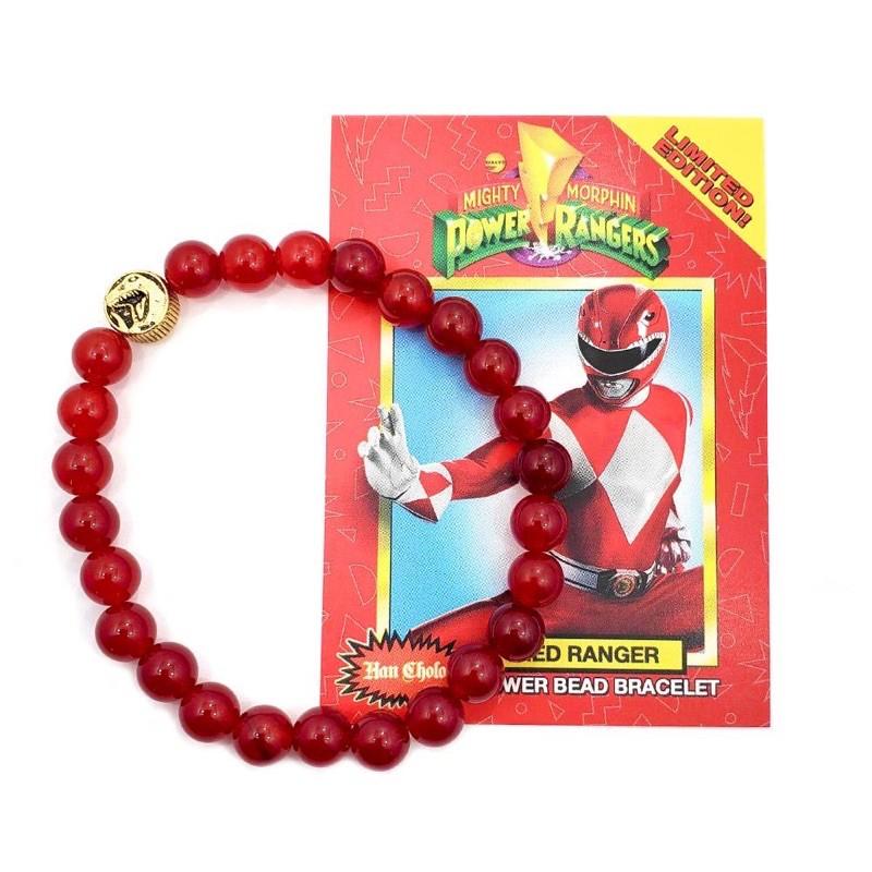 HAN CHOLO - Power Rangers 金剛戰士 紅戰士串珠手鍊 - 限量