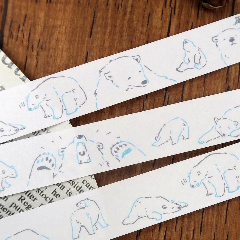 和紙膠帶//北極熊的吶喊 : 為什麼我家冷氣都不冷