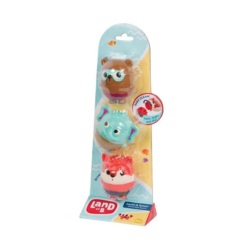 美國【B.Toys】Land Of B系列-水球膠囊-森林小組(LB1846Z)★衛立兒生活館★
