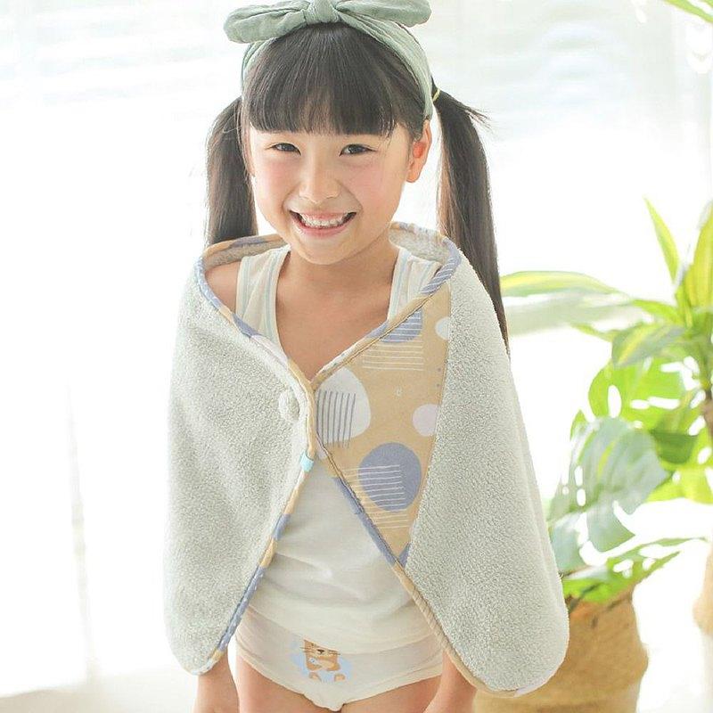 【冬季限定】可以扣的球球巾(35x75cm)-灰