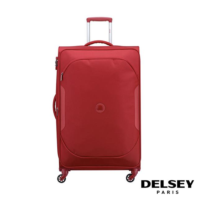 【DELSEY】法國大使 U LITE CLASSIC 2-28吋旅行箱-紅色 00324682104
