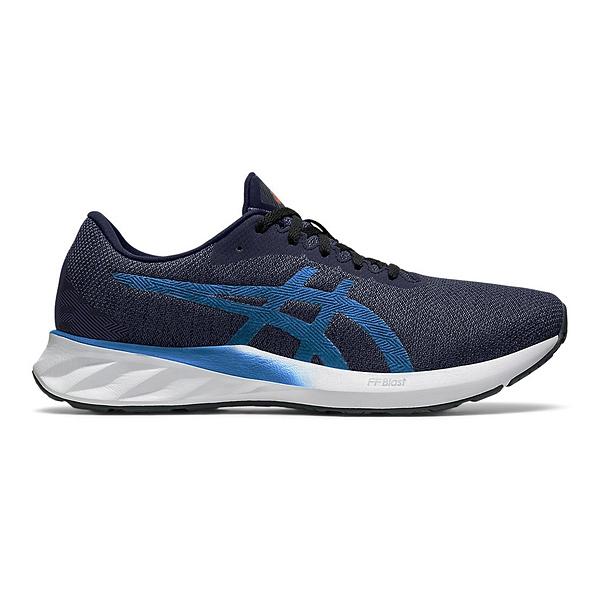 Asics Roadblast [1011A818-400] 男鞋 慢跑 運動 休閒 輕量 支撐 透氣 彈力 亞瑟士 藍