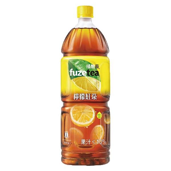 FUZE tea 飛想茶檸檬紅茶1250ml 【康鄰超市】