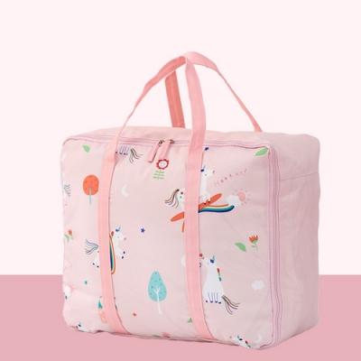 DF童趣館 - 童趣味動物漫遊大容量手提棉被收納袋-共2色