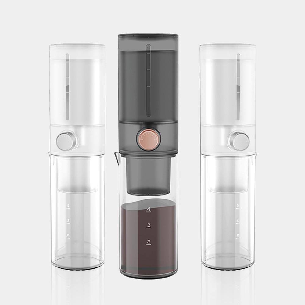 【TIMEMORE】泰摩小i 家用冰釀滴濾式手沖冷萃冰釀咖啡壺 - 兩色可選 【限時送潔淨海綿刷】