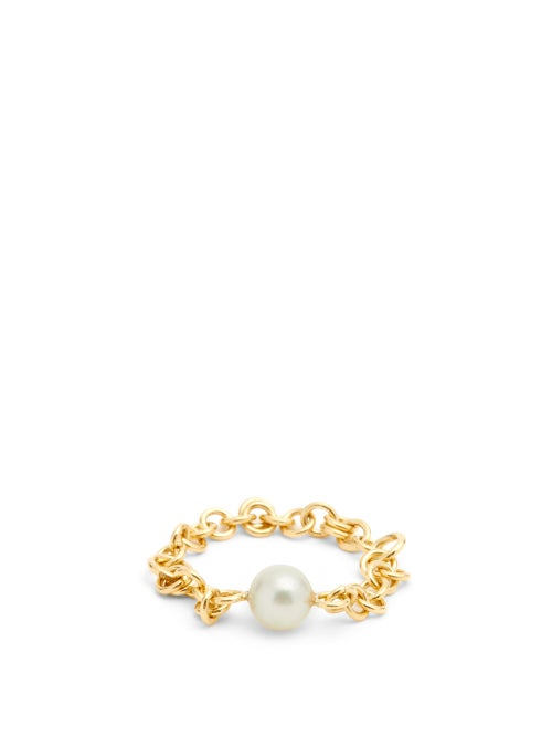 Spinelli Kilcollin - Pearl & 18kt Gold Ring - Womens - Pearl