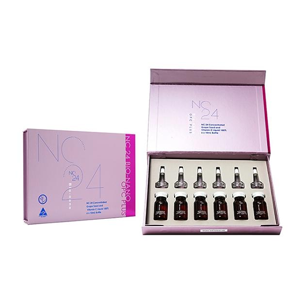 【澳洲Natures Care】NC24美膚維他命C葡萄籽安瓶 1入組 6pcs/盒