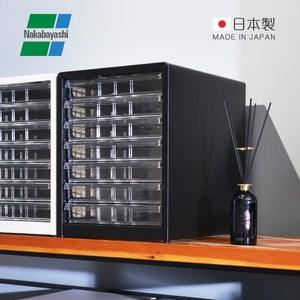 【日本仲林】日本製鋼製桌上型A4文件櫃/資料櫃-7低抽尊爵黑