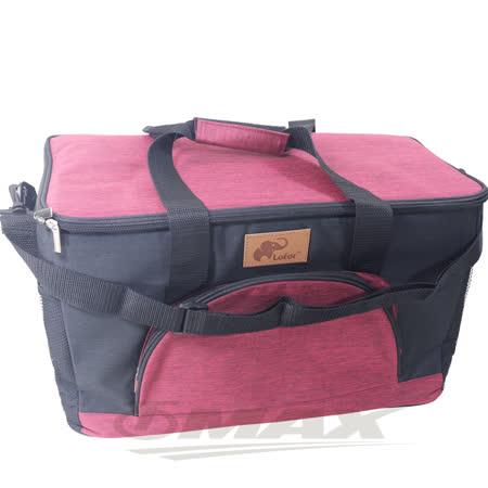 OMAX超厚配色保冰保溫袋32公升-紅色