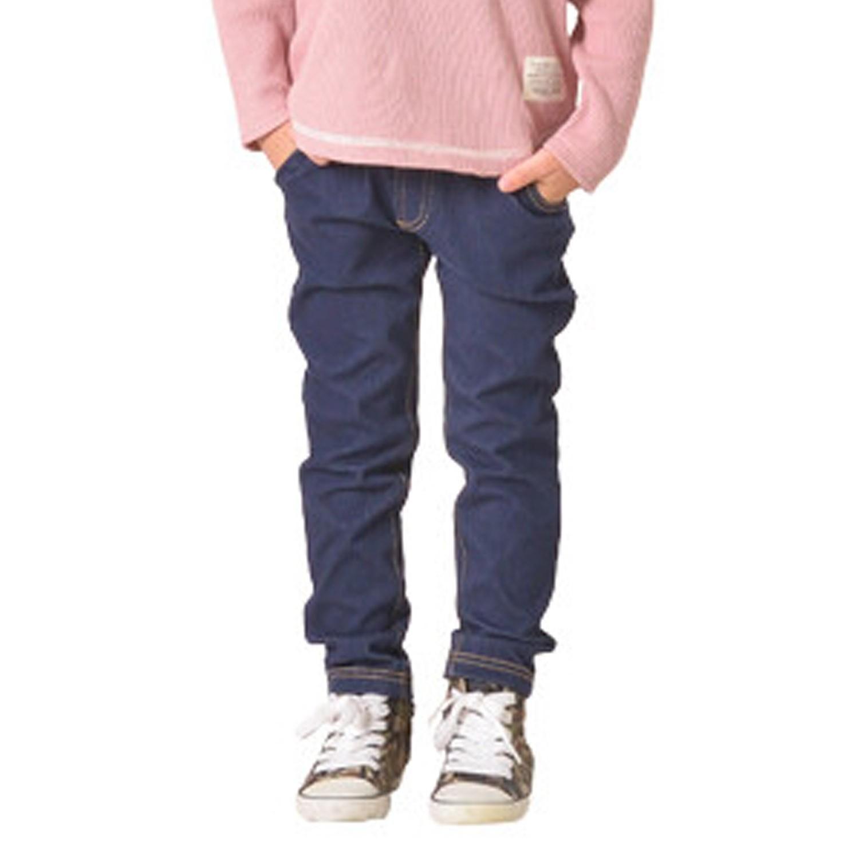 日本 TORIDORY - 百搭長褲-牛仔純色-藍