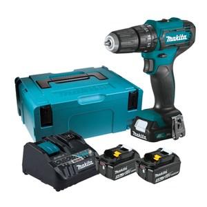 牧田12V震動起子電鑽附雙充座x1適12-18V用.BL1850Bx2 HP33