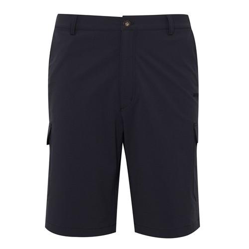 瑞多仕 DA3403 男彈性快乾休閒短褲(側口袋) 灰黑色
