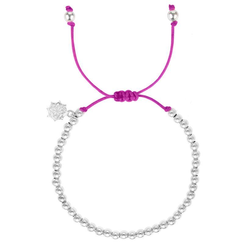 Hot Pink Misanga Bracelet