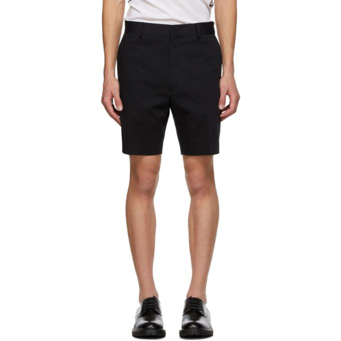 Fendi 黑色 Plain 短裤