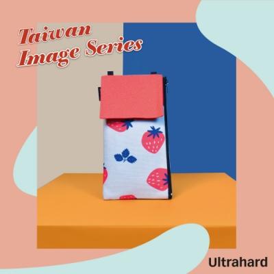 Ultrahard 台灣旅印系列手機包-草莓