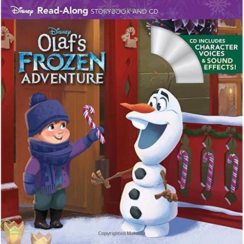 Olaf's Frozen Adventure (1平裝+1CD)【禮筑外文書店】(有聲書)[73折]