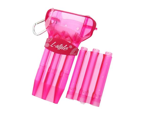 【L-style】KRYSTAL ONE Pink 鏢盒/鏢袋 DARTS