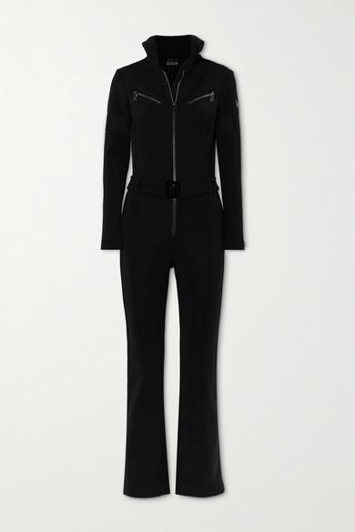 toni sailer - Lotta 配腰带连体滑雪服 - 黑色 - FR40