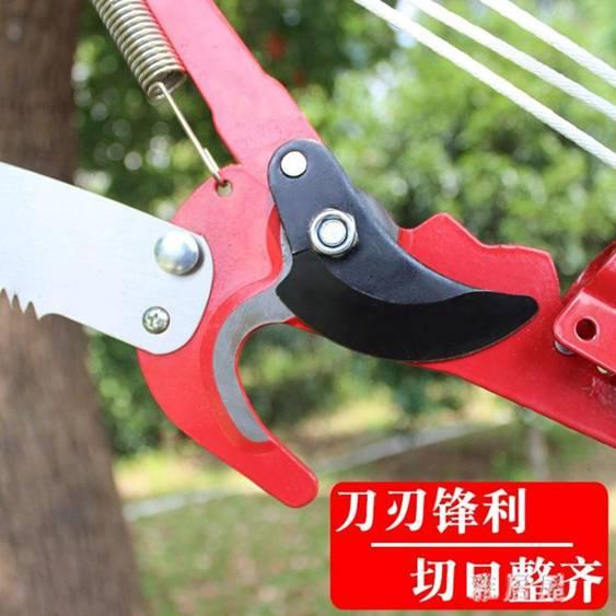 園藝工具高枝鋸伸縮高空鋸高枝剪摘果剪修枝剪高空剪修剪樹枝 PA15427