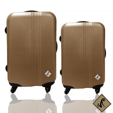 Miyoko簡約系列(28+20吋)ABS輕硬殼行李箱二件組